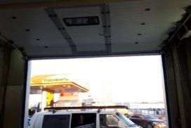 Гаражные подъёмно-секционные ворота DoorHan RSD02 в п.Шушары, фото 2