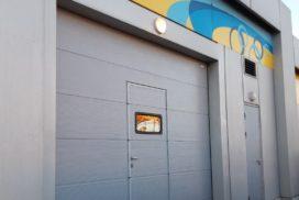 Гаражные подъёмно-секционные ворота DoorHan RSD02 в п.Шушары, фото 4