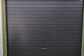 Гаражные подъёмно-секционные ворота Alutech Prestige в ДНП Восход, фото 2