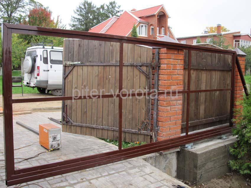 Рама для сдвижных ворот