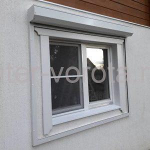 Рольставни на окна Doorhan из профиля RH45N в Токсово, фото 1