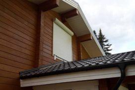 Рольставни на окна Doorhan из профиля RH45N в Токсово, фото 3