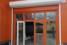 Роллетные ворота DoorHan из профиля RH77 в Малом Верево, фото 2