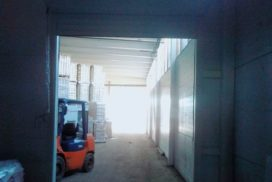 Роллетные ворота DoorHan из профиля RH77 в Потанино, фото 4