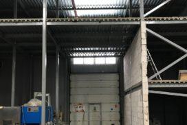 Роллетные ворота Doorhan из профиля RH77M в СПБ, фото 4