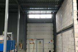 Роллетные ворота Doorhan из профиля RH77M в СПБ, фото 5