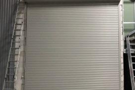 Роллетные ворота Doorhan из профиля RH77M в СПБ, фото 2