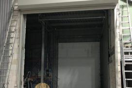 Роллетные ворота Doorhan из профиля RH77M в СПБ, фото 3