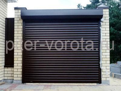 Роллетные ворота DoorHan 3250x2250 мм