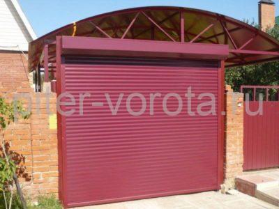 Роллетные ворота DoorHan 2250x3500 мм