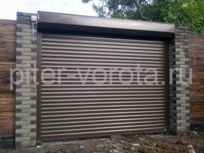 Роллетные ворота DoorHan 3500x4000 мм