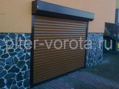 Роллетные ворота DoorHan 3250x3500 мм