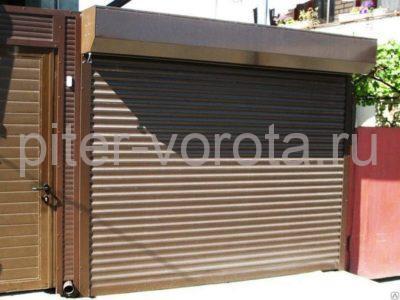 Гаражные роллетные ворота DoorHan RH77M 2600x2600