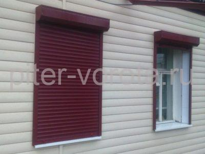 Рольставни на окна RH58N, 1000 x 2500 мм