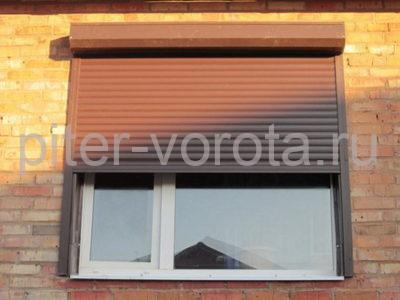 Рольставни на окна RH45N, 1000 x 2000 мм