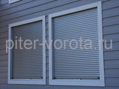 Рольставни на окна RH45N, 2000 x 2000 мм