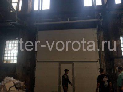 Промышленные подъёмно-секционные ворота Doorhan RSD01 на Шоссе Революции, фото 1