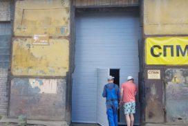 Промышленные подъёмно-секционные ворота Doorhan RSD01 на Шоссе Революции, фото 2