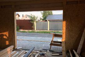 Гаражные подъёмно-секционные ворота DoorHan RSD01 в Агалатово, фото 4