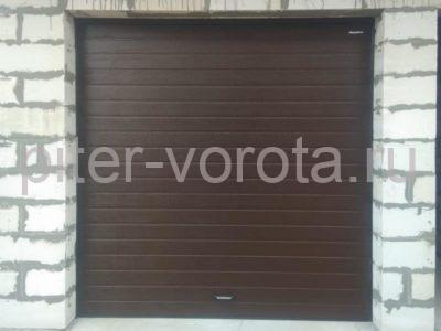 Ворота гаражные подъёмно-секционные DoorHan RSD01 в ДНП Лесная Сказка, фото 1