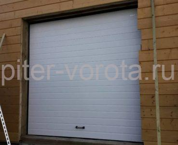 Гаражные подъёмно-секционные ворота DoorHan RSD01 в ДНП Озёрный Кот, фото 1
