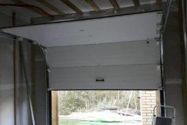 Гаражные подъёмно-секционные ворота DoorHan RSD01 в ДНП Озёрный Кот, фото 2
