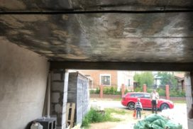 Гаражные подъёмно-секционные ворота DoorHan RSD01 в Киссолово, фото 4