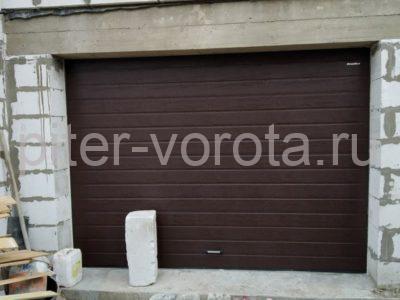 Гаражные подъёмно-секционные ворота DoorHan RSD01 в Киссолово, фото 1