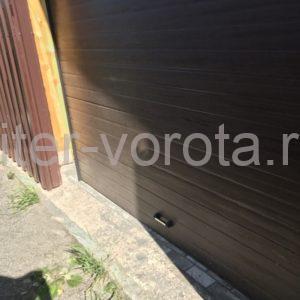 Гаражные подъёмно-секционные ворота Doorhan RSD01 в Кордоне, фото 1