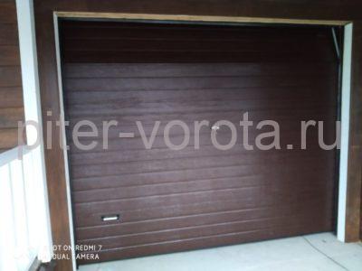 Гаражные подъёмно-секционные ворота DoorHan RSD01 в КП Петровские Сады, фото 1