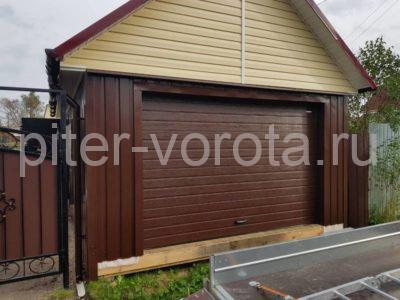 Гаражные подъёмно-секционные ворота Doorhan RSD01 в Любани, фото 1
