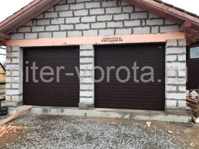 Гаражные подъёмно-секционные ворота Doorhan RSD01 в Малых порогах, фото 1