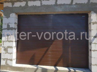 Гаражные подъёмно-секционные ворота Doorhan RSD01 в Новой пробе, фото 1