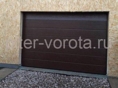 Гаражные подъёмно-секционные ворота Doorhan RSD01 в Отрадном, фото 1