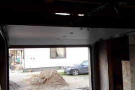 Гаражные подъёмно-секционные ворота Doorhan RSD01 в Отрадном, фото 2