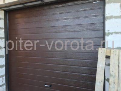 Гаражные подъёмно-секционные ворота Doorhan RSD01 в Приозёрном, фото 1