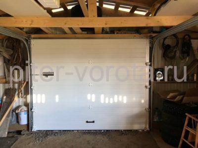 Гаражные подъёмно-секционные ворота Doorhan RSD01 в Пудости, фото 1