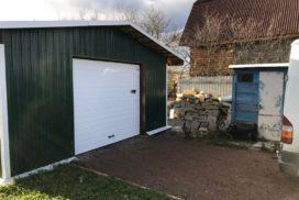 Гаражные подъёмно-секционные ворота Doorhan RSD01 в Пудости, фото 2