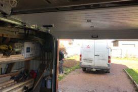 Гаражные подъёмно-секционные ворота Doorhan RSD01 в Пудости, фото 4