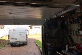 Гаражные подъёмно-секционные ворота Doorhan RSD01 в Пудости, фото 5
