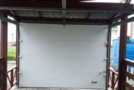 Ворота гаражные подъёмно-секционные DoorHan серии RSD01 в Рощино, фото 2