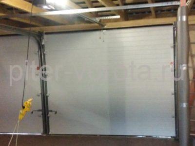 Гаражные подъёмно-секционные ворота DoorHan RSD01 в Васкелово, фото 1