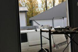 Гаражные подъёмно-секционные ворота DoorHan RSD02 на пр. Обуховской Обороны, фото 2