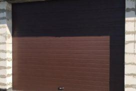 Гаражные подъёмно-секционные ворота DoorHan RSD02 в д.Олики, фото 2