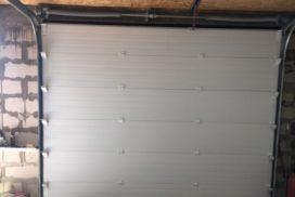 Гаражные подъёмно-секционные ворота DoorHan RSD02 в д.Олики, фото 4