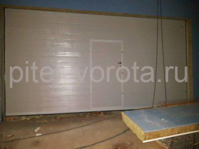 Гаражные подъёмно-секционные ворота Doorhan RSD02 в Ермилово, фото 1