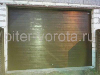 Гаражные подъёмно-секционные ворота Doorhan RSD02 в Кингисеппе, фото 1