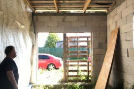 Гаражные подъёмно-секционные ворота DoorHan RSD02 в Лапухинке, фото 4