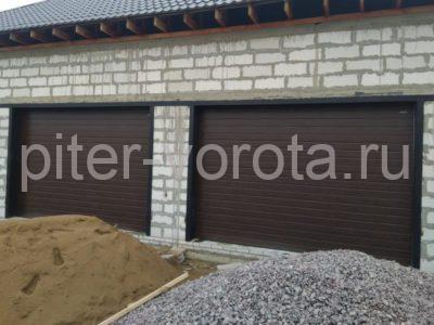Гаражные подъёмно-секционные ворота DoorHan RSD02 в Отрадном, фото 1