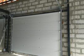 Гаражные подъёмно-секционные ворота DoorHan RSD02 в Отрадном, фото 2